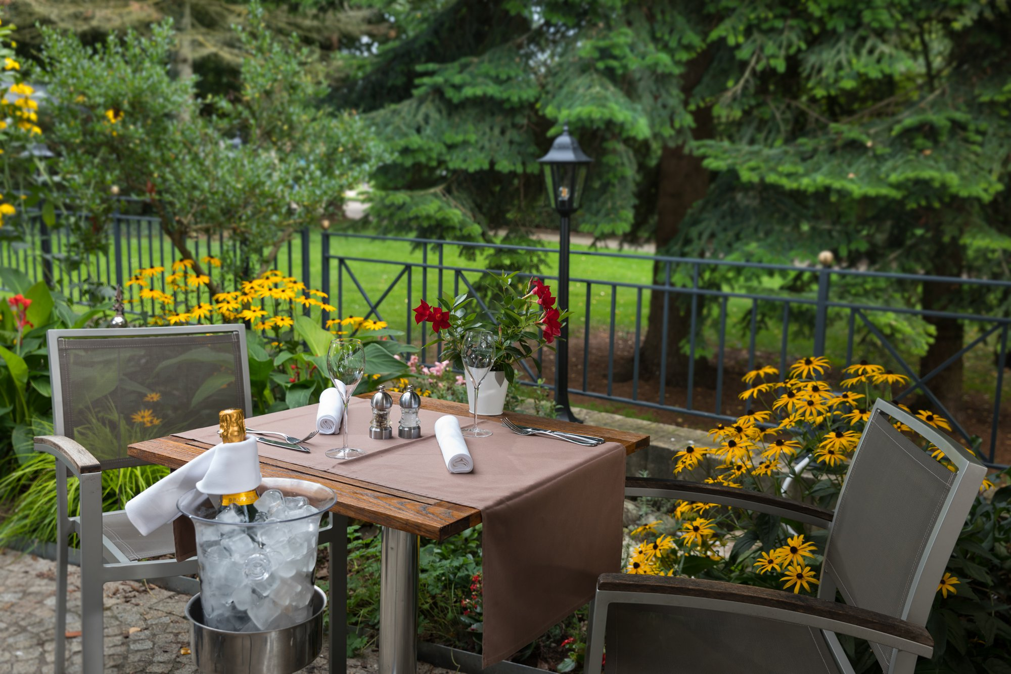 Goeres Hotels - Restaurant Le Bistrot Terrace - Luxembourg