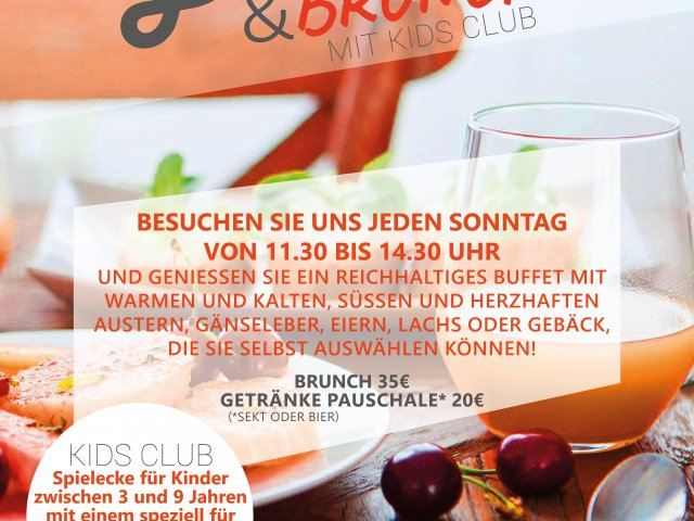 Flyer Angebot Bubbles & brunch