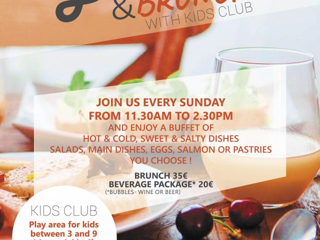 Flyer offer Bubbles & Brunch - Goeres Hotels Luxembourg
