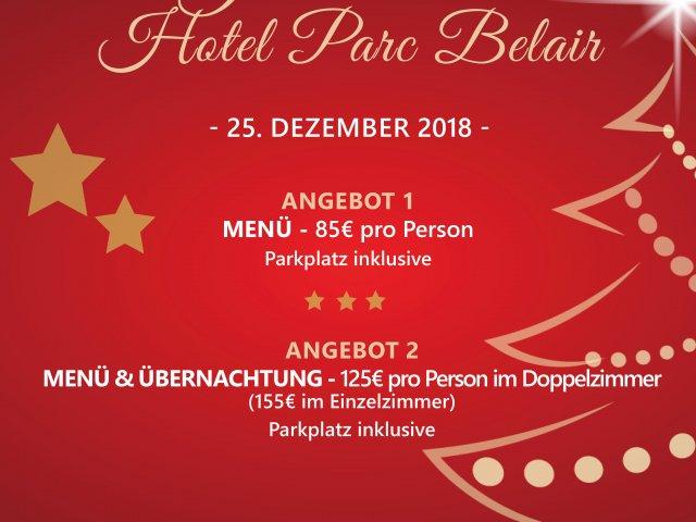 Flyer Noël 2018 - DE