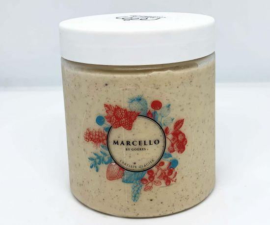 Glace praliné-noisette Marcello